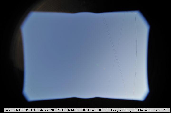 Пример на полноформатную камеру