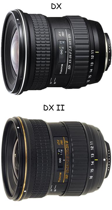 Так отличаются версии DX и DX II