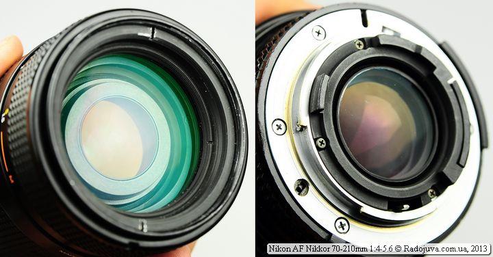 Просветление Nikon AF Nikkor 70-210mm F4-5.6