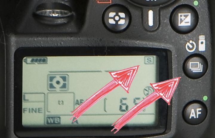 Так переключаются режимы на Nikon D90