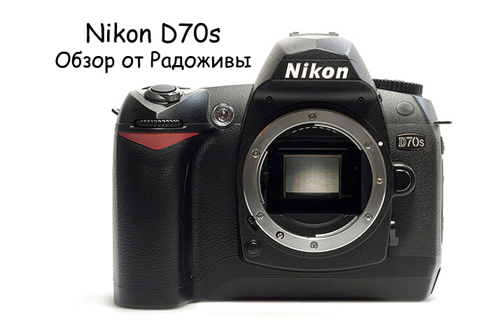 Обзор Nikon D70s