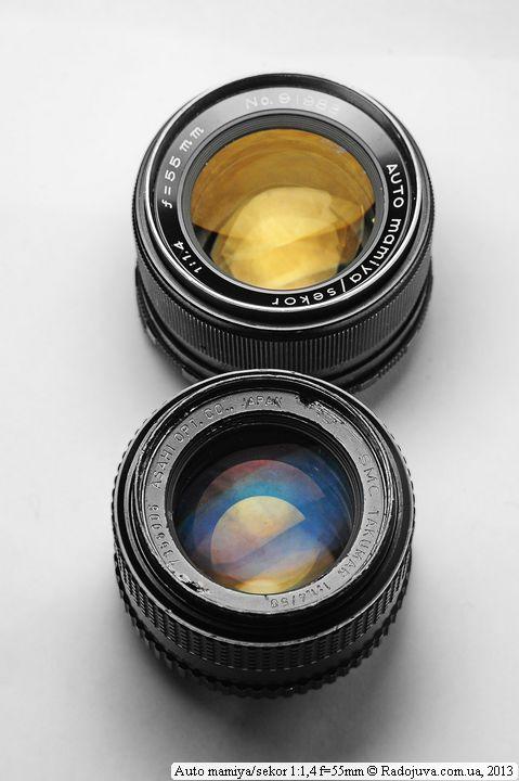 Two legendary lenses