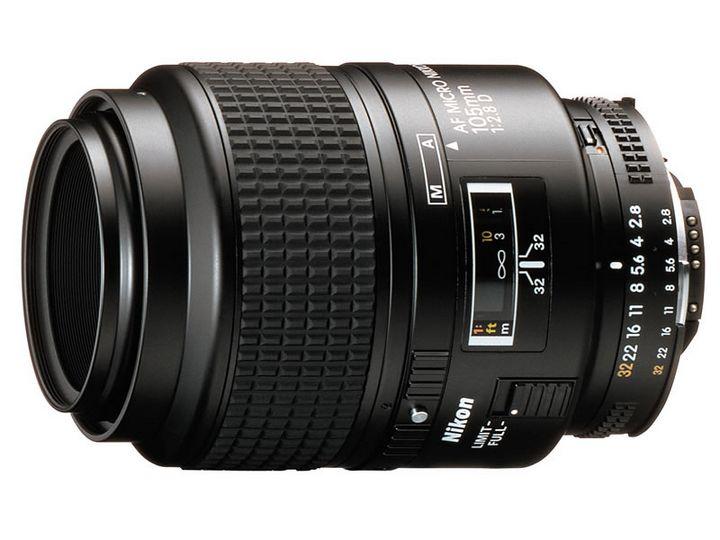Nikon 105mm 1:2.8D AF Micro Nikkor