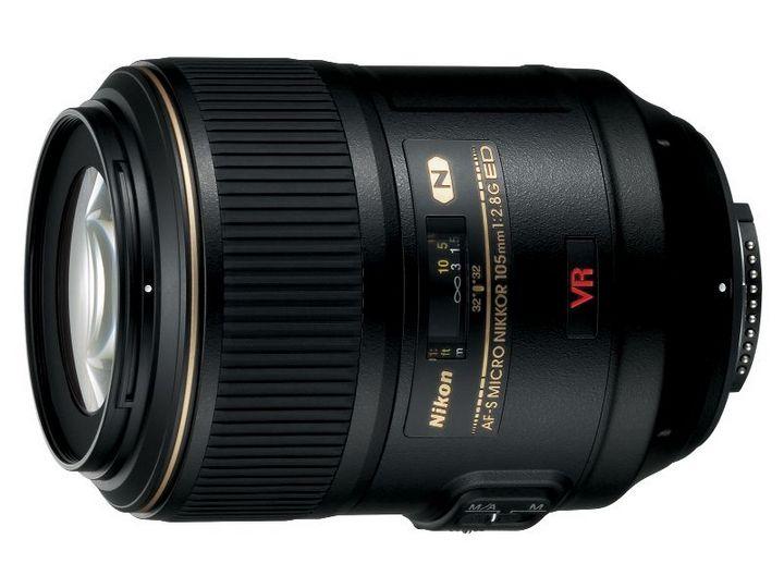 Nikon 105mm 1:2.8G N AF-S Micro Nikkor ED VR
