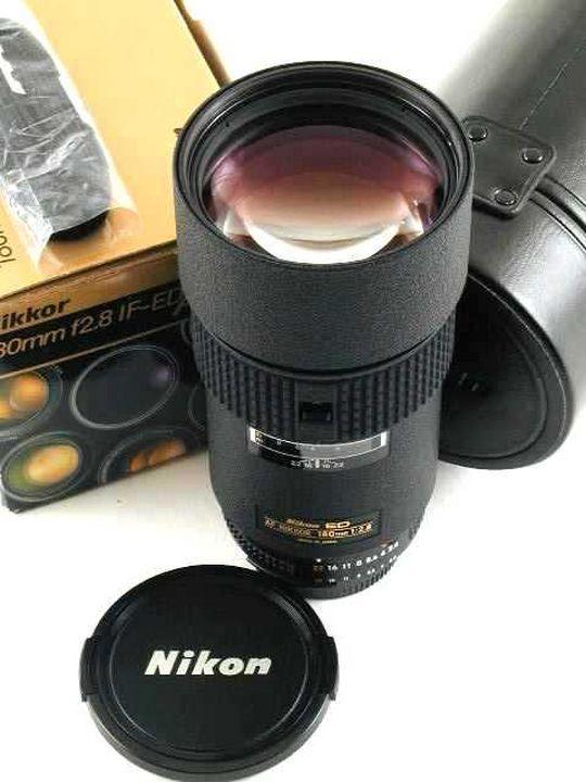Nikon 180mm 1:2.8 ED AF Nikkor MKII