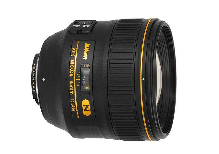 Nikon 85mm 1:1.4G N AF-S Nikkor