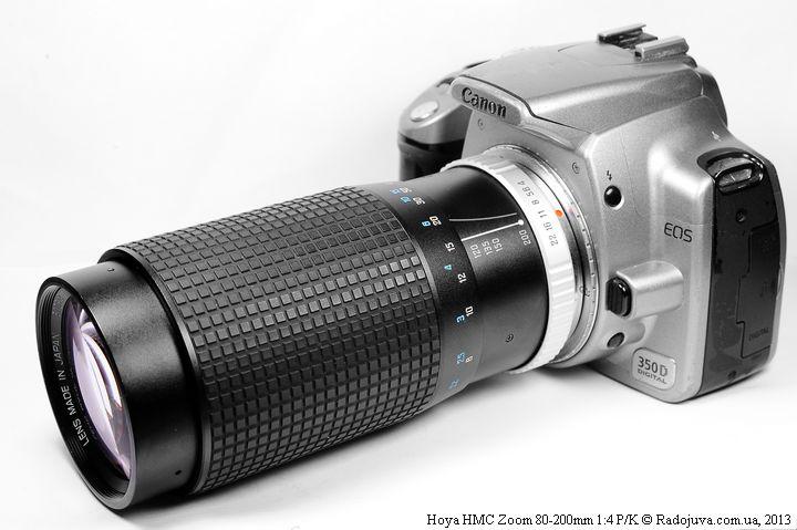 Так выглядит Hoya HMC Zoom 80-200mm 1:4 на ЦЗК