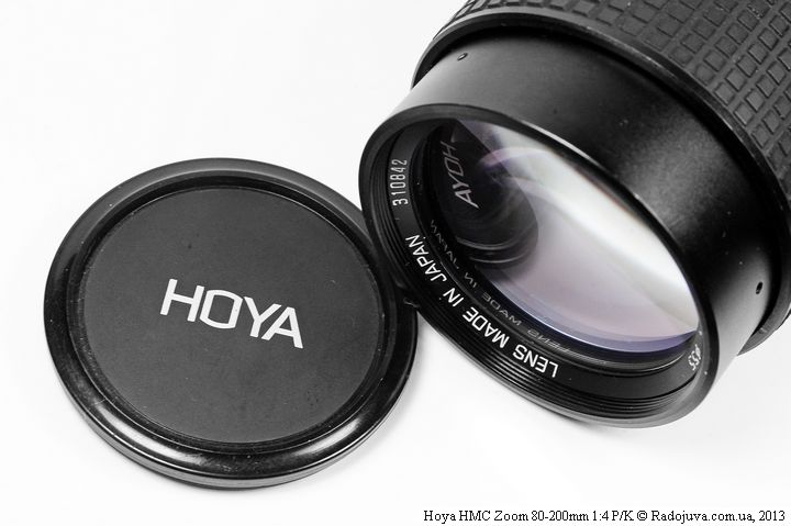 Родная крышка Hoya HMC Zoom 80-200mm 1:4