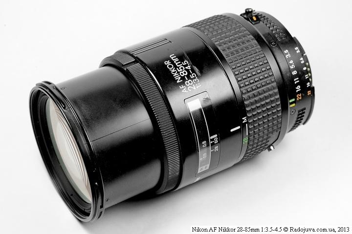 Nikon AF 28-85mm F/3.5-4.5 в макро режиме
