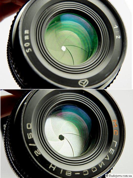 Лепестки диафрагмы у объективов