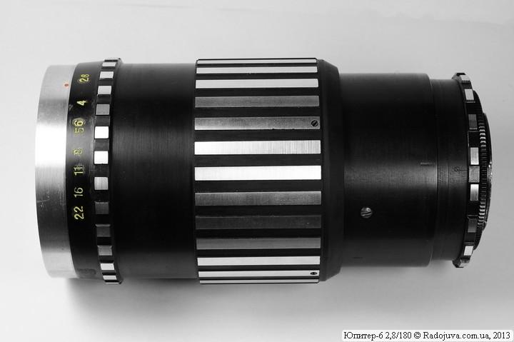 Вид объектива Юпитер-6