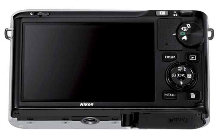 Nikon 1 J1 вид сзади