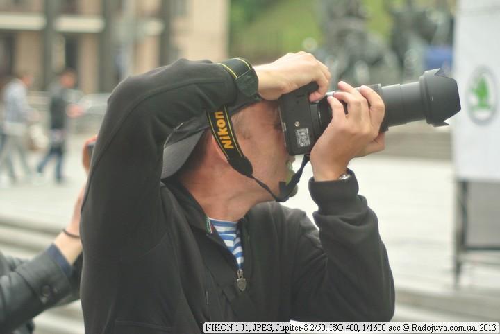 Фото на Nikon J1