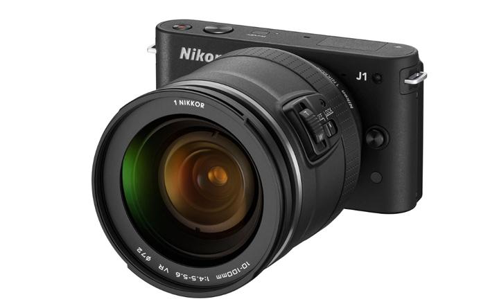 Nikon 1 J1 с суперзумом