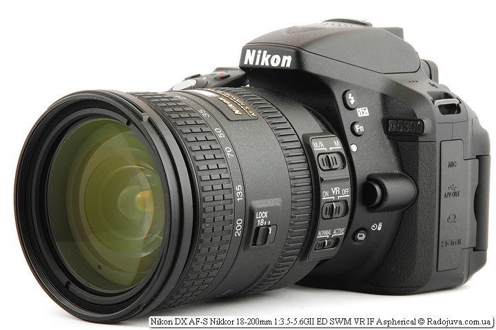 Nikon 18-300mm f/3.5-5.6G ED VR AF-S Nikkor на камере Nikon D5300