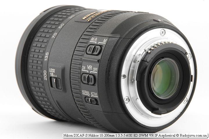 Nikon DX AF-S Nikkor 18-200mm 1:3.5-5.6GII ED SWM VR IF Aspherical