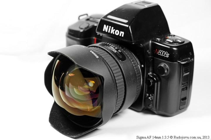Sigma AF 14mm 1:3.5 на ЗК
