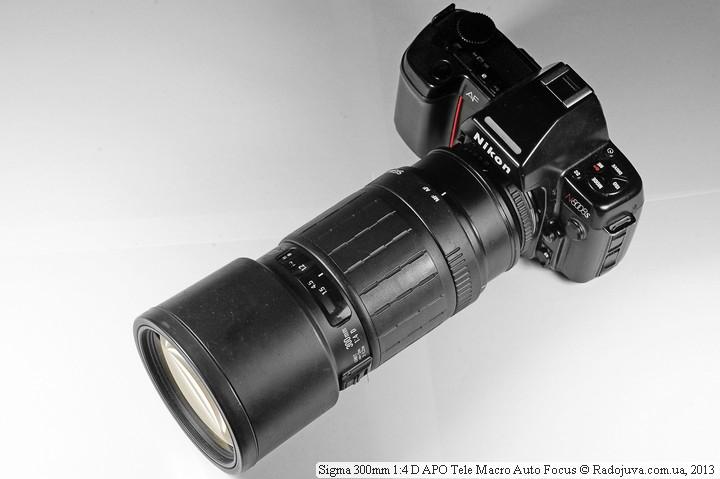 Sigma 300 mm 1:4 D APO Tele Macro Auto Focus