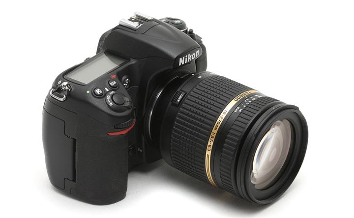 Так выглядит Tamron на камере Nikon