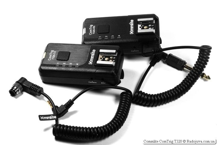 Приемник и передатчик с кабелями из коробки