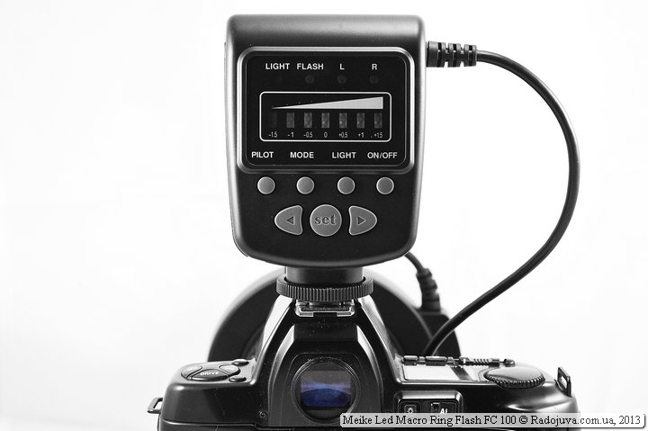 Meike Led Macro Ring Flash FC 100