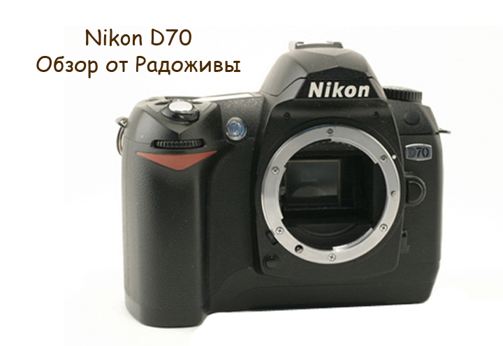Обзор Nikon D70