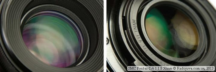 SMC просветление объектива