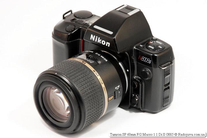 Tamron SP 60mm F/2 Macro 1:1 Di II G005