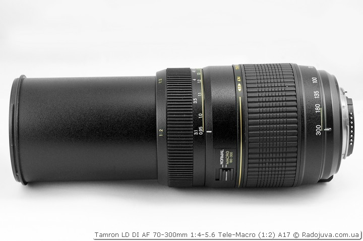 Обзор Tamron LD DI AF 70-300mm 1:4-5.6 Tele-Macro (1:2) A17