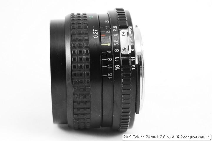 RMC Tokina 24mm 1: 2.8 N / A
