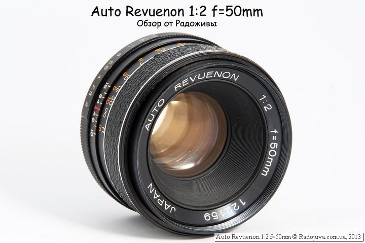 Auto Revuenon 1:2 f=50mm