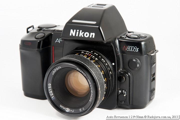 Вид Auto Revuenon F 2 50mm на ЗК