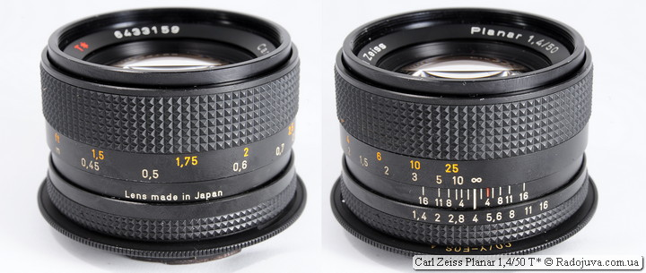 Carl Zeiss Planar 1,4/50 T*