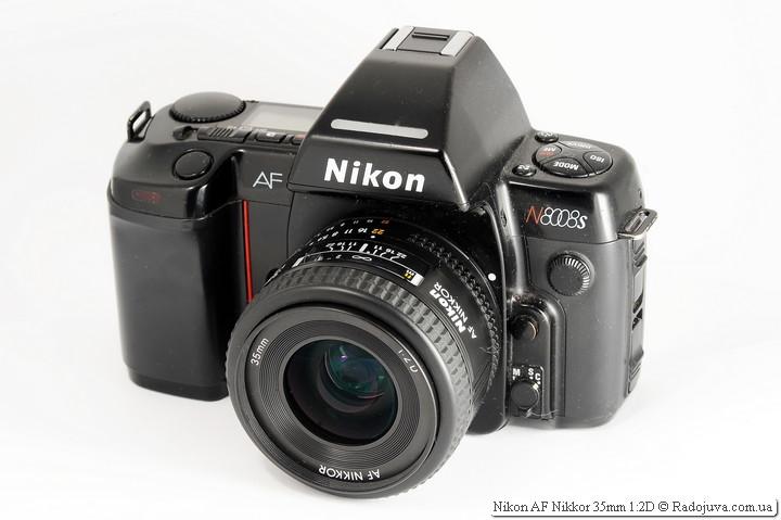 Nikon AF Nikkor 35mm 1:2D
