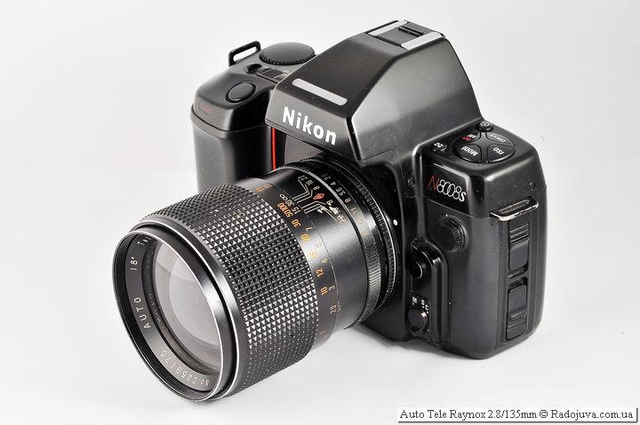 Auto Tele Raynox F 2.8 135 mm