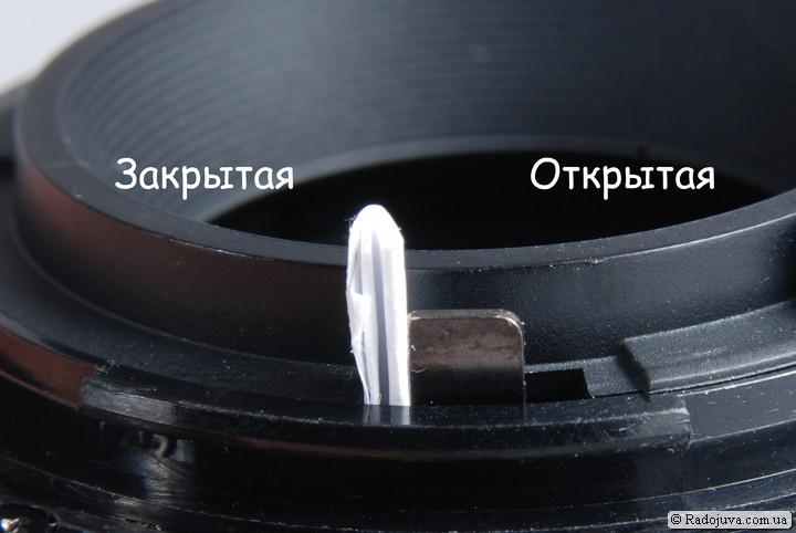Самодельный контроллер диафрагмы