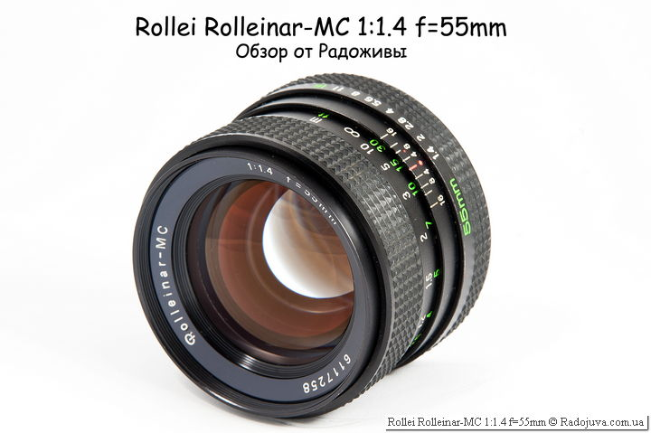 Обзор Rollei Rolleinar-MC 1:1.4 f=55mm