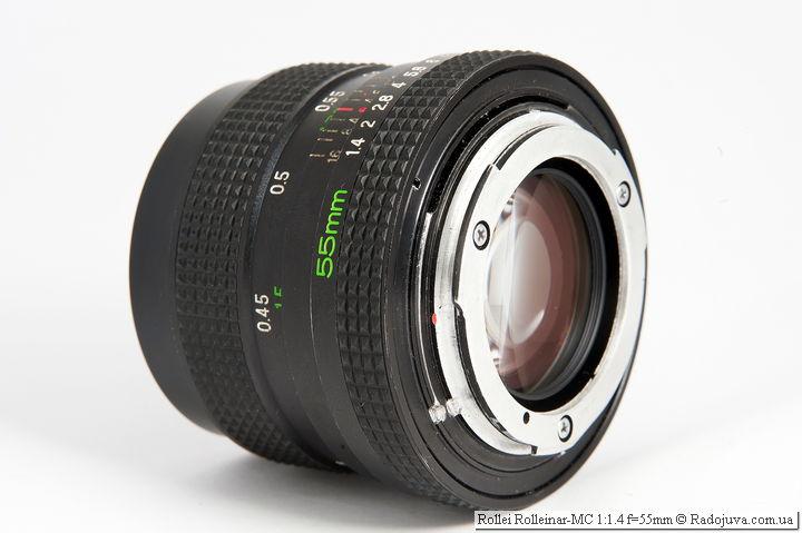 Rollei Rolleinar-MC 1: 1.4 f = 55mm