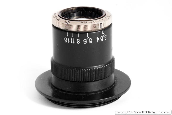 Обзор И-22У 1:3,5 F=50mm П