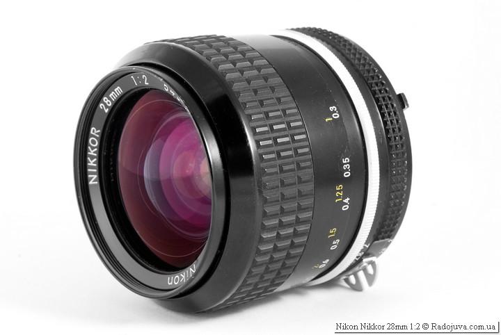Обзор Nikon Nikkor 28mm 1:2