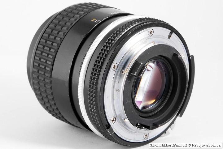 Nikon Nikkor 28mm 1:2