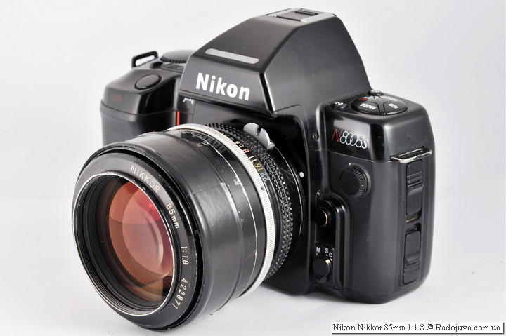 Nikon Nikkor 85mm 1:1.8 (K)