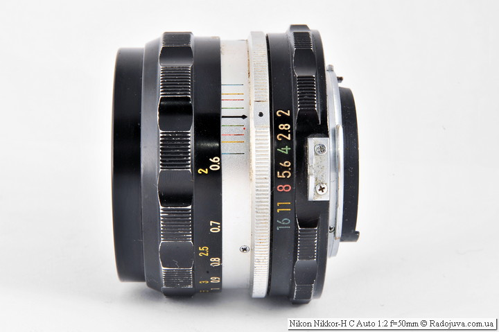 Вид Nikon Nikkor-H C Auto 1:2 f=50mm