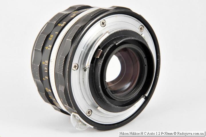 Nikon Nikkor-H C Auto 1:2 f=50mm