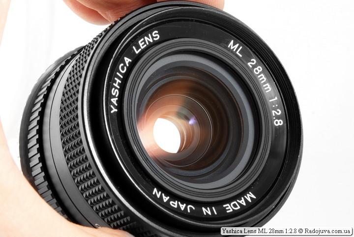 Yashica Lens ML 28mm 1: 2.8