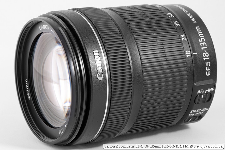 Обзор Canon Zoom Lens EF-S 18-135mm 1:3.5-5.6 IS STM