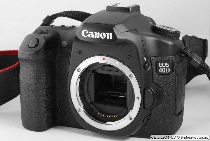 Обзор Canon EOS 40D