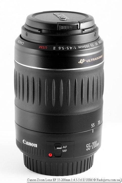 Canon Zoom Lens EF 55-200mm 1:4.5-5.6 II USM