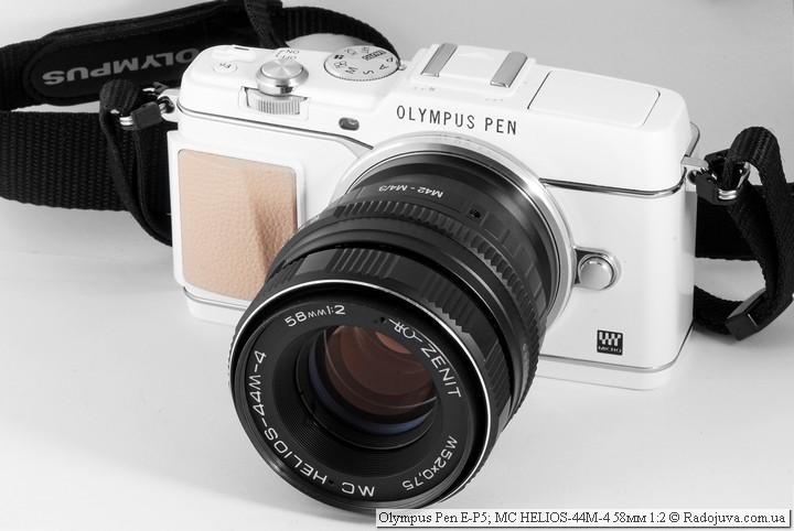 E-P5 с советским мануальным объективом
