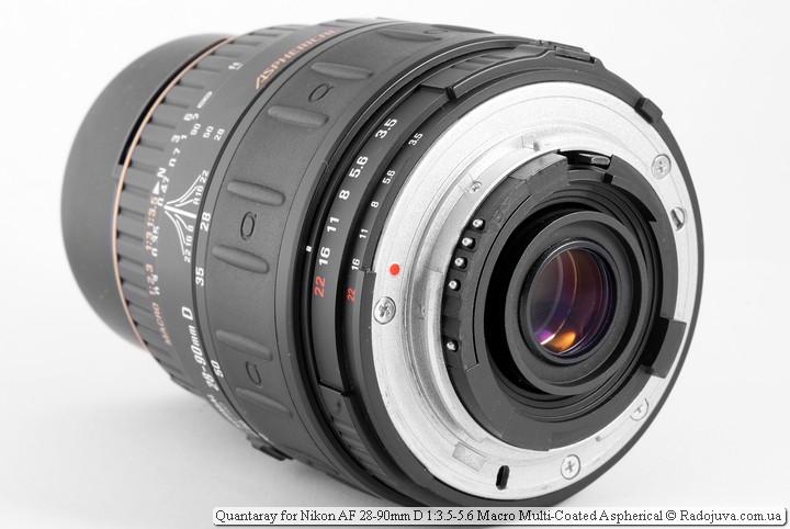 Quantaray for Nikon AF 28-90mm D 1:3.5-5.6 Macro